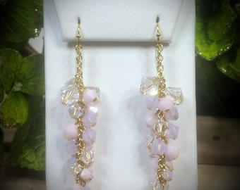 Swarovski Crystal & Pearl Innocence Earrings
