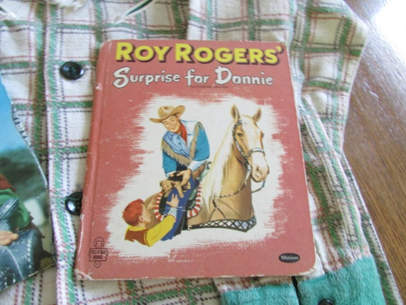Vintage Roy Rogers Western Shirt with Two Roy Rog… - image 4