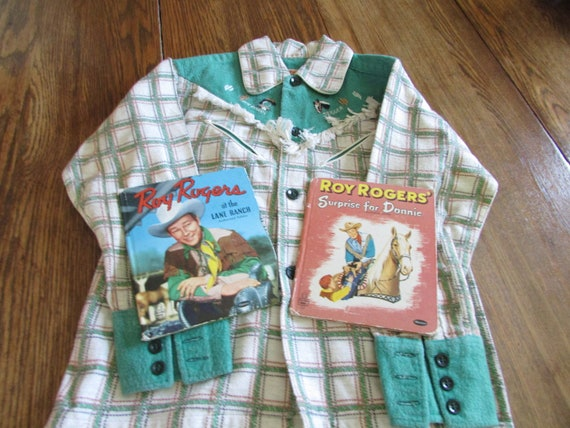 Vintage Roy Rogers Western Shirt with Two Roy Rog… - image 2