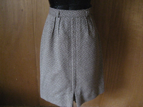 British Walking Wool Skirt From Summit