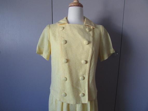 Yellow Summer Suit