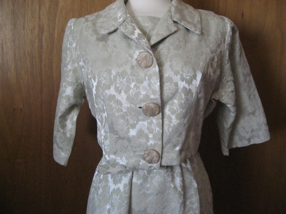Brocade Jacket Dress