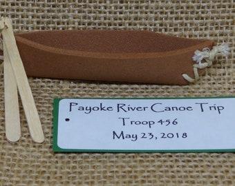 Set of Ten (10) Canoe SWAP or Craft Kits