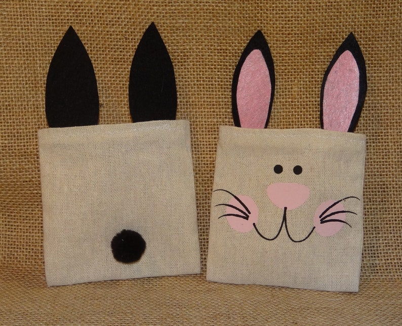 Set of Ten 10 Adorable Bunny Rabbit Ears Cottontail Easter image 0