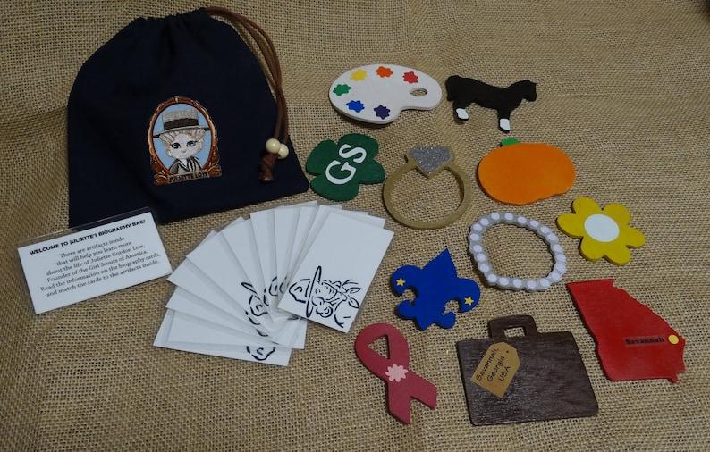 Juliette Gordon Low Founder Scout Biography Bag image 1