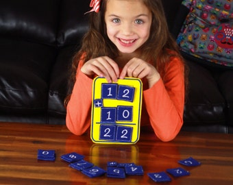 Felt Math Activity, Educational Math Activity, Math Activity, Classroom Activity, Learning Tool, Educational, CPSC Compliant, Numbers