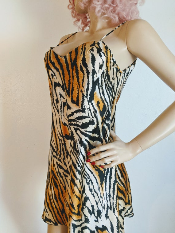 Lucie Ann Beverly Hills- 1970's Sexy Tiger Print … - image 3