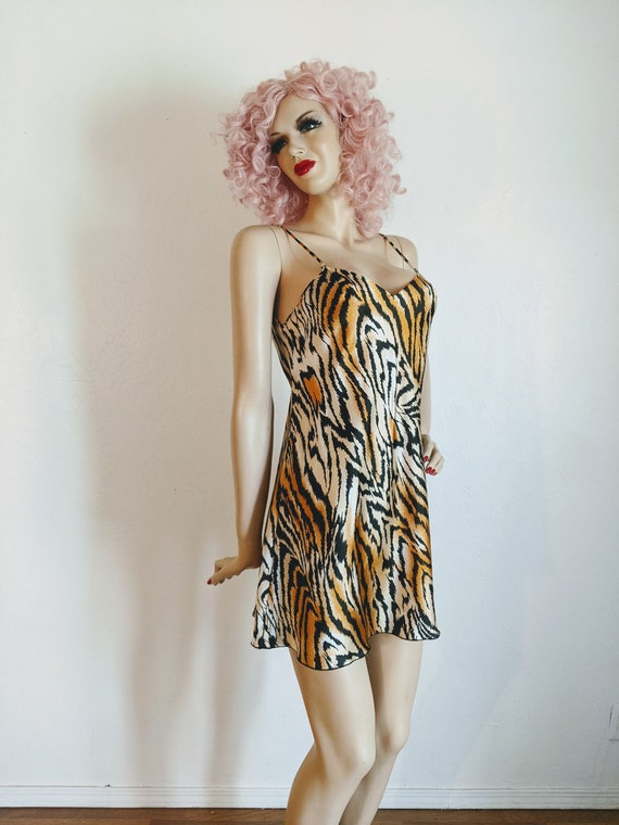 Lucie Ann Beverly Hills- 1970's Sexy Tiger Print … - image 4