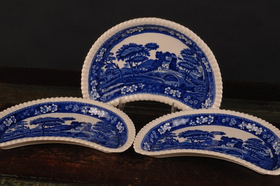 "Vintage Copeland Spode China Spode/'s Tower Blue Salad Plate 7-3//4/"""