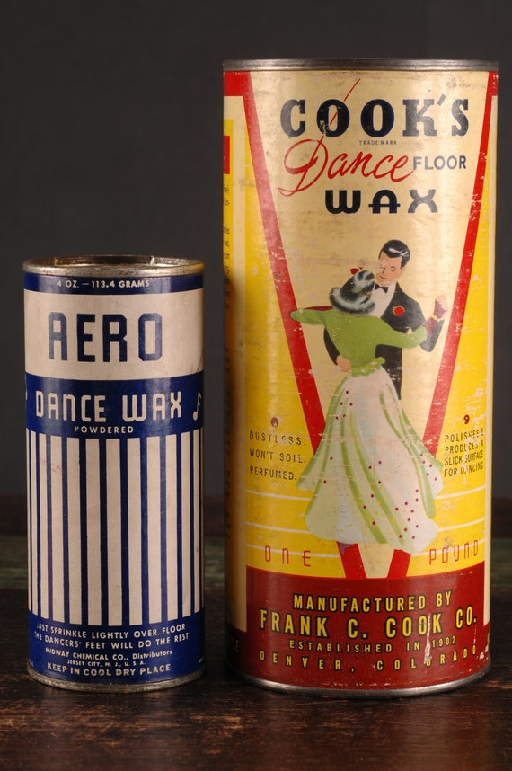 Cook S Dance Floor Wax And Aero Dance Wax Etsy