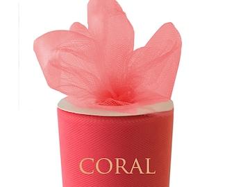 Red Tulle Roll Spool 6 x 25yd 6 inch x 25 yard Tutu Fabric Ribbon Tutu Bridal Bow Wedding Gift Craft Bow Decoration Craft 75yd 50yd