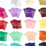 """100 150 200 pcs 4""""x6"""" Sheer Drawstring Organza Bags Jewelry Pouches Wedding Party Favor Gift Bags Gift Bags Candy Bag - US SELLER Fast Ship."""