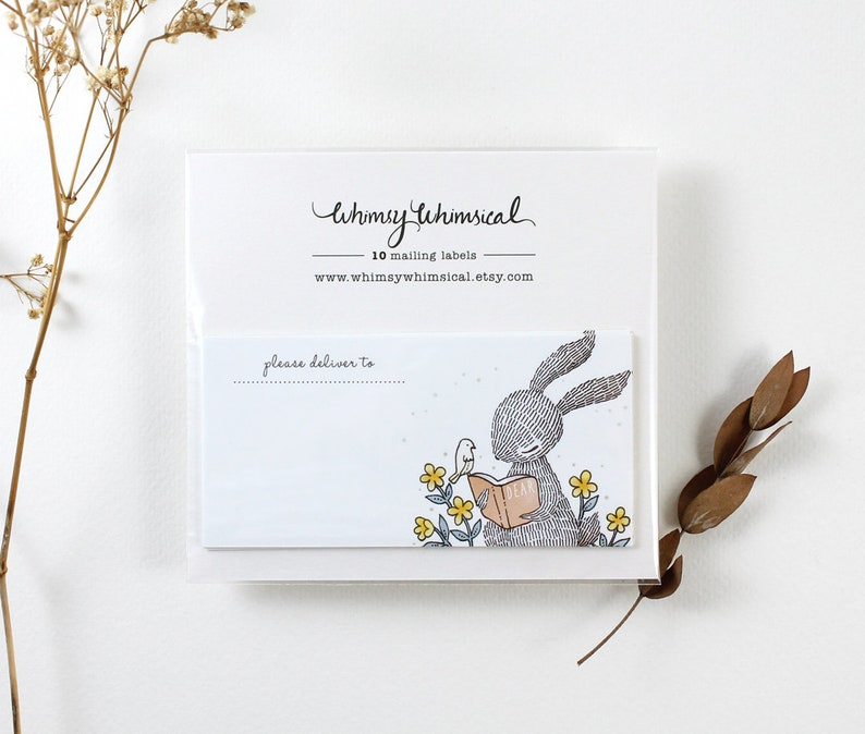 10 Mailing Labels Rabbit/'s Favourite Storybook