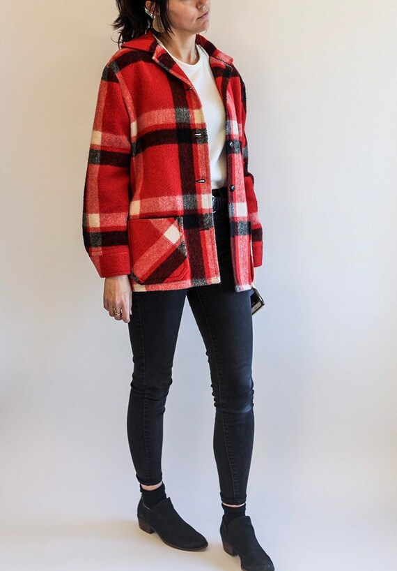 Canadian Camper Coat by Bell Shirt Co. Wool Plaid