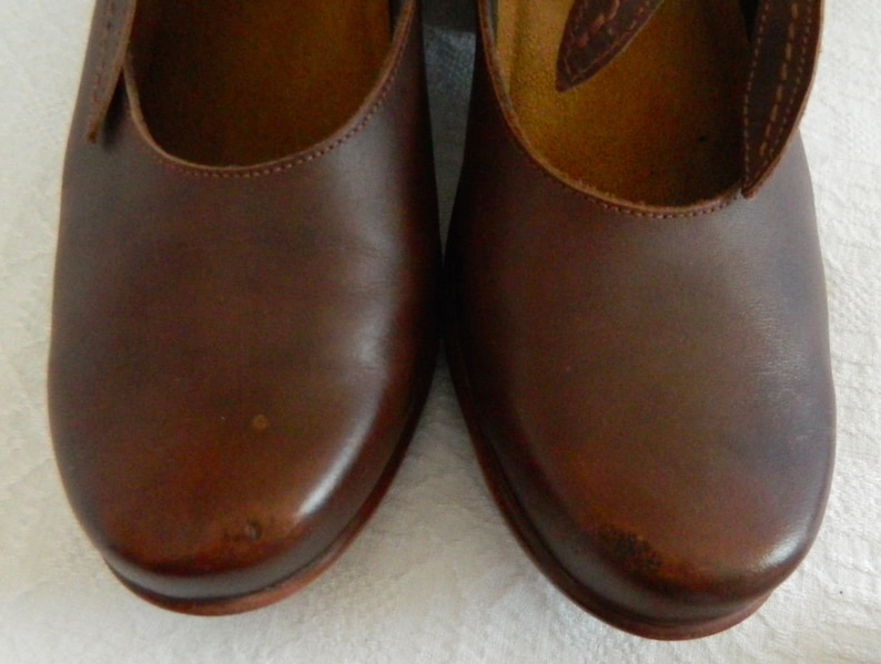 NAOT~Genuine~LEATHER~Earthy CLOGS~Super Comfy~38~8