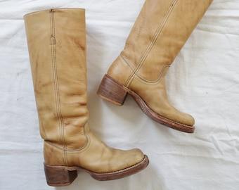7c9641ef31ef 70s Frye Campus Boots