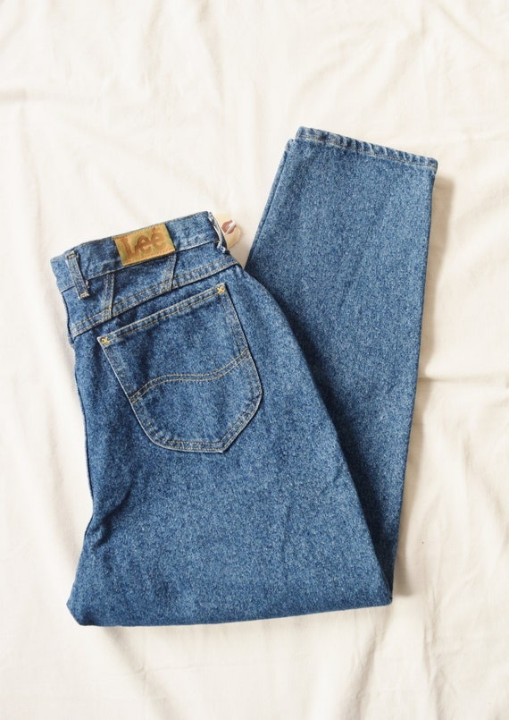 """1980s Lee High Rise Jeans 
