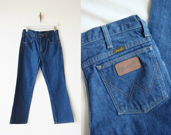 1970s Wranglers   Jeans   High Rise, Cropped Fit  