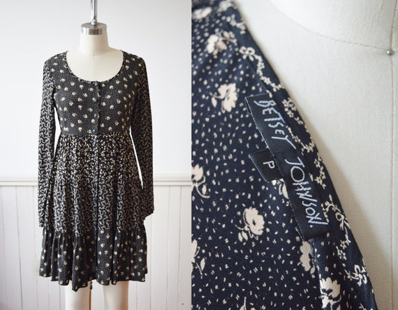 Vintage Betsey Johnson Mini Broom Skirt Dress | 19