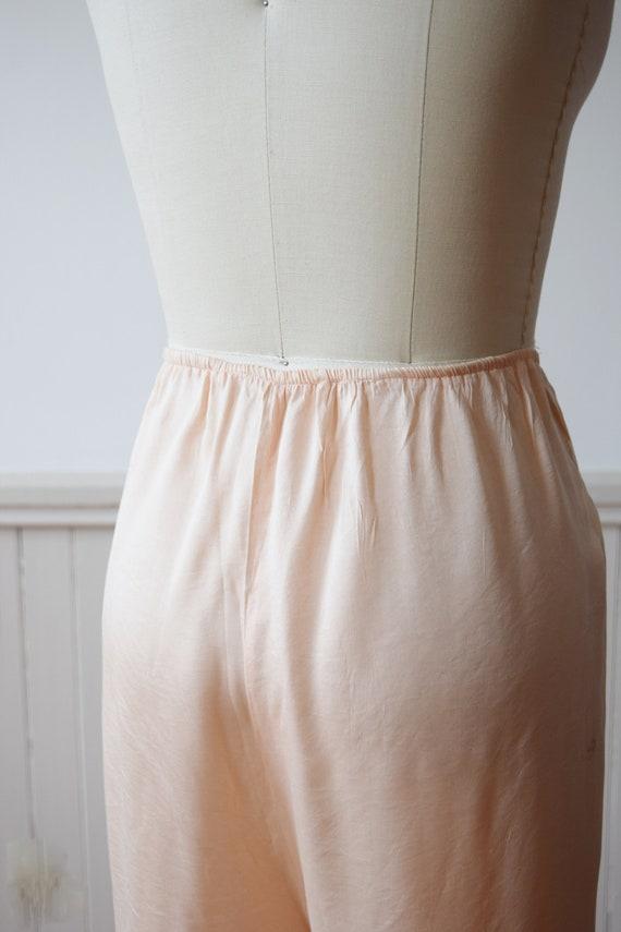 1940s Silk Pajama Set | Top + Wide Leg Pants | Vi… - image 7