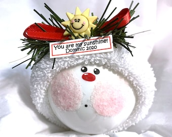 You Are My Sunshine Christmas Ornaments Sun Townsend Custom Gifts W133 993
