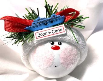 Cruise Souvenir Christmas Ornaments Townsend Custom Gifts W166 113
