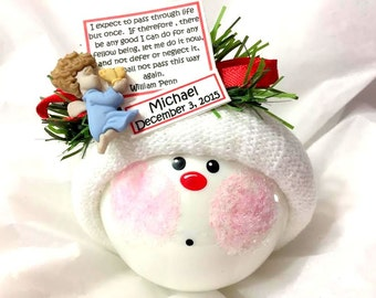 Organ Donor Transplant Living Gifts Ornament Angel Poem Personalized Townsend Custom Gifts - 856 J