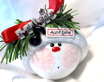 Music Christmas Ornaments Black Note Townsend Custom Gifts W186 170 1335