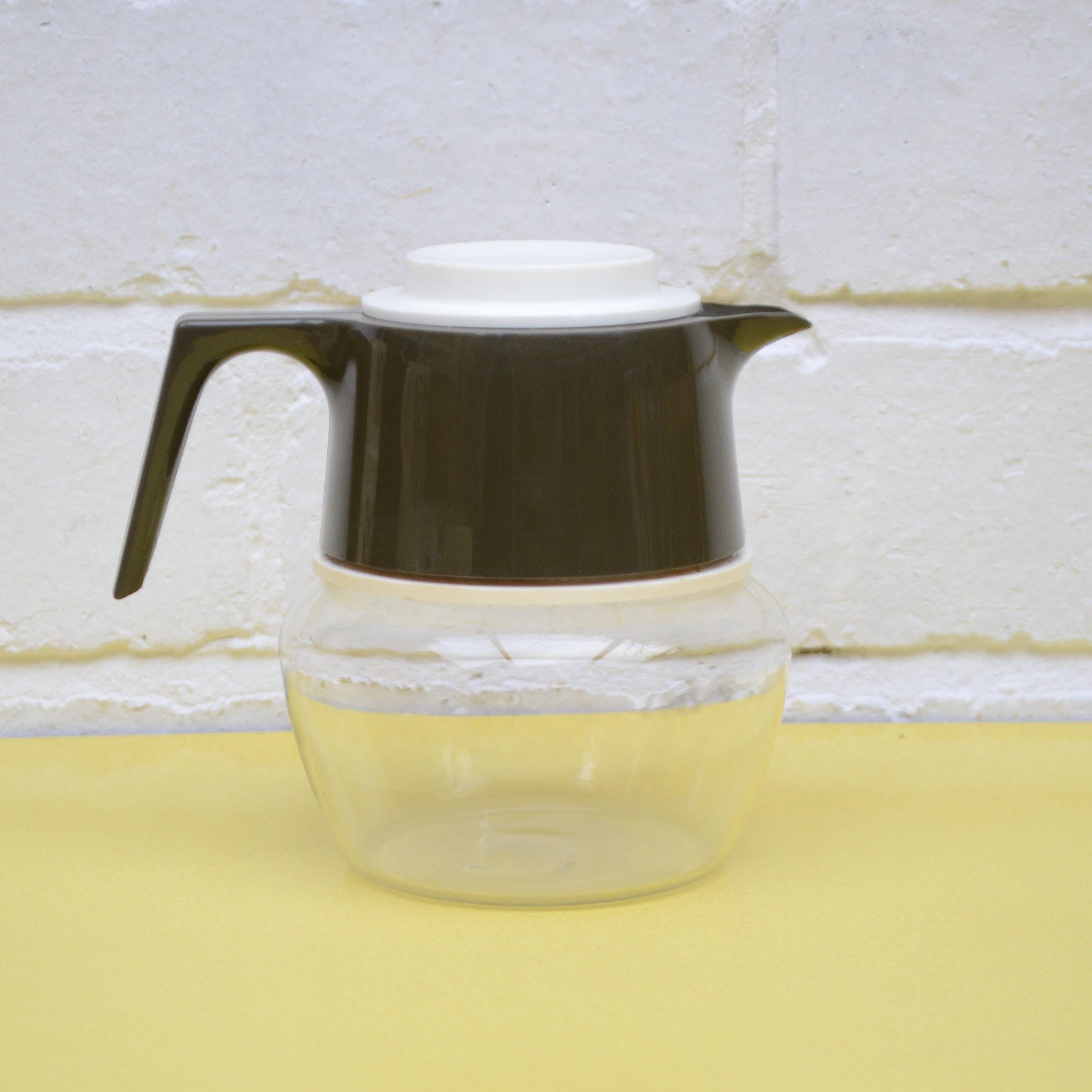 Caraffa in vetro vintage JAJ piccola caraffa di caffè Pyrex  fc068e41a09a