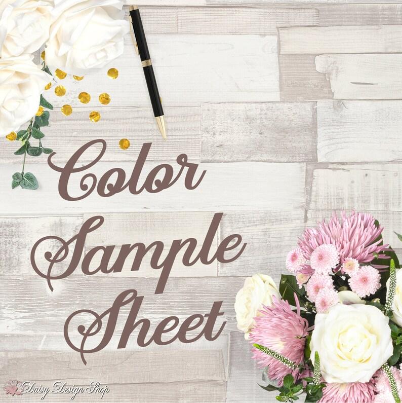 Color Sample Sheet image 0