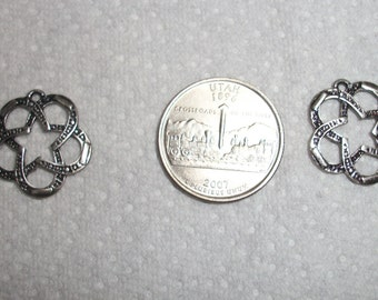 western horse shoe star charms