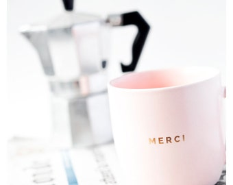 Cafetière, FRENCH Photography, Paris Photo, MERCI, Pink Mug, Coffee Pot, Le Monde, Newspaper, Journal, Photography for Francophiles