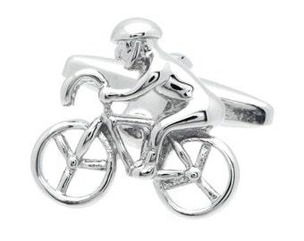 Bicycle Cufflinks n00011
