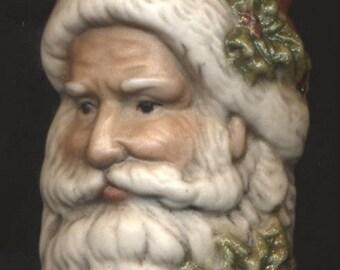 Porcelain Old World Santa Ornament