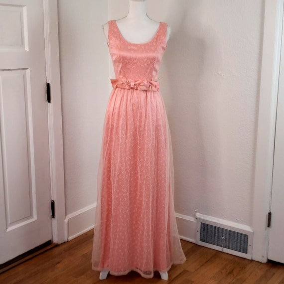 Vintage Pink Women's Gown