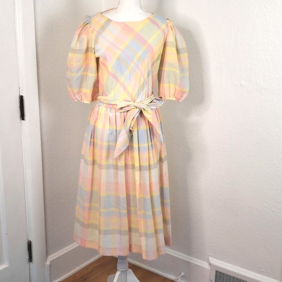 Willow Ridge women's Plaid Dress size 12
