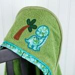 dinosaur toddler towel hooded children's bath or beach towel