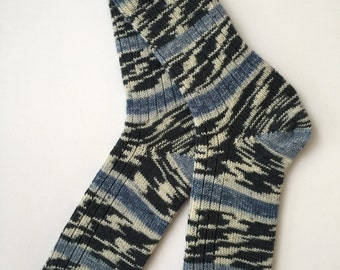 """Hand Cranked, Men's Wool Socks, """" Austermann Step"""" Father's Day Gift"""