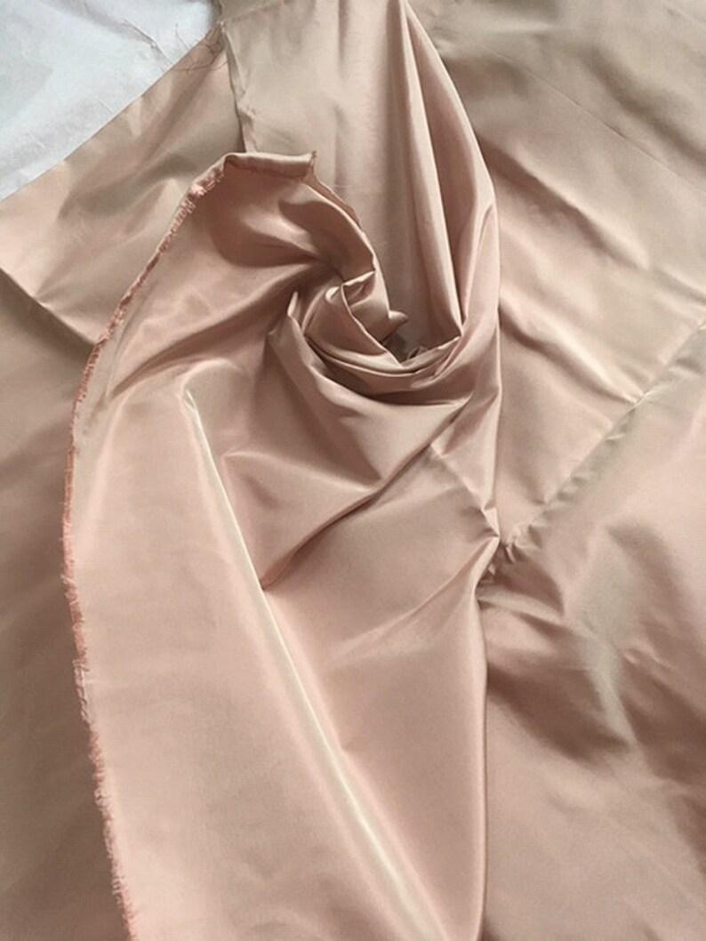 Blush Silk Taffeta 3 yard Sale