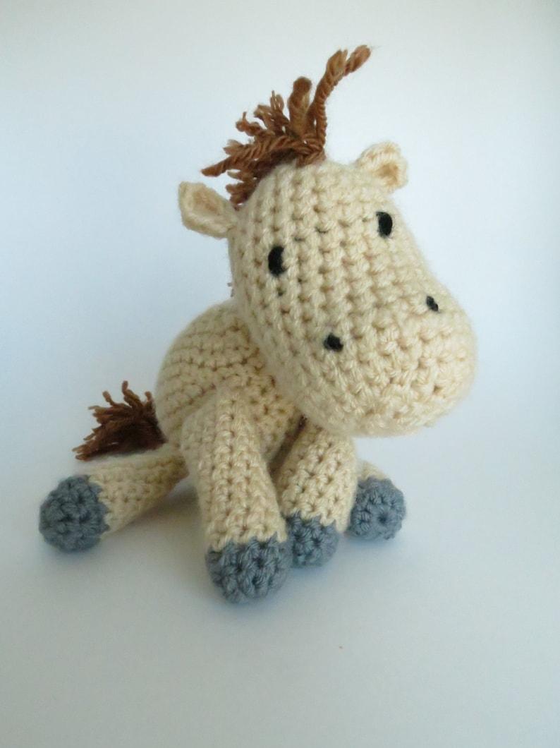 Crochet Horse Pattern Horse Crochet Pattern Amigurumi Etsy