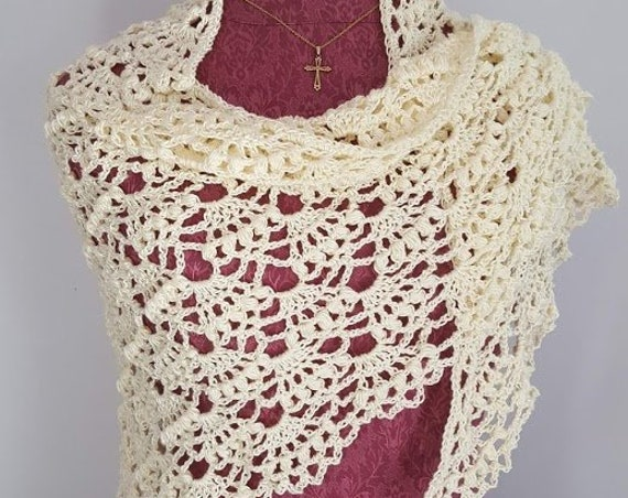 Crochet bridal shawl, mother of the bride shawl, popcorn wrap, summer wedding shawl, red carpet shawl wrap, bridesmaid dress accessories