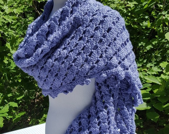 Crochet shawl, wedding shawl, rectangle shawl wrap, bridesmaids wrap, prayer shawl, Mothers Day caplet, bohemian wrap, boho chic shawl, RTS