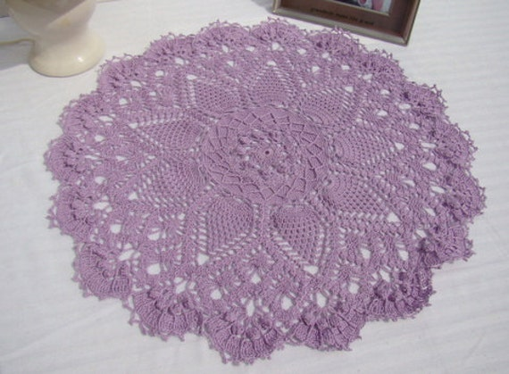 Crochet table topper, dining room decor, bedroom boudoir decor, crochet doily, entryway doily, table centerpiece, handmade centerpiece