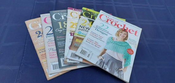 LOVE OF CROCHET magazines, crochet patterns, crochet supplies, unique crochet creations, highly collectable, modern crochet patterns