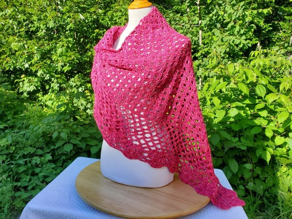 Wedding shawl, Valentines gift, handmade crochet wrap, bridesmaids dress accessory, gift for her, county wedding attire, summer wedding, RTS