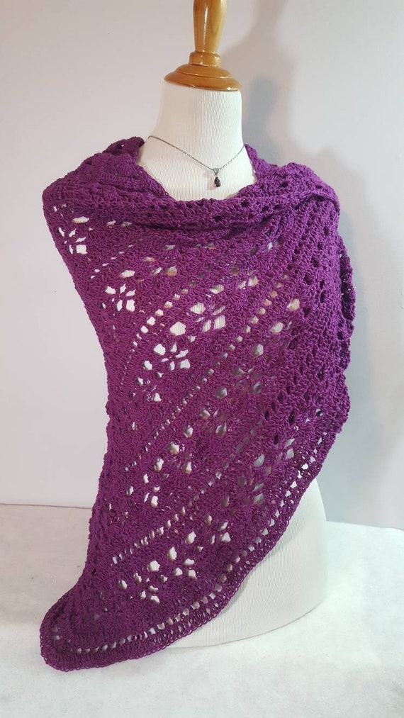 Crochet shawl, bridal accessory, openwork lace shawl, Mothers Day shawl, Victorian lace shawl, Valentine gift for her, prom dress wrap, RTS