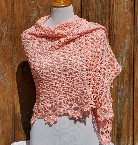 Wedding shawl, bridesmaids wrap, crochet Victorian shawl, handmade shawl, openwork lace shawl, Mothers Day wrap, Red Carpet shawl
