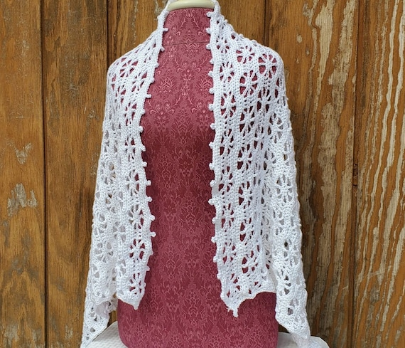 Wedding shawl, crochet shawl wrap, openwork summer shawl wrap, crochet lace shawl, summer wedding shawl, bridesmaids wrap, handmade crochet