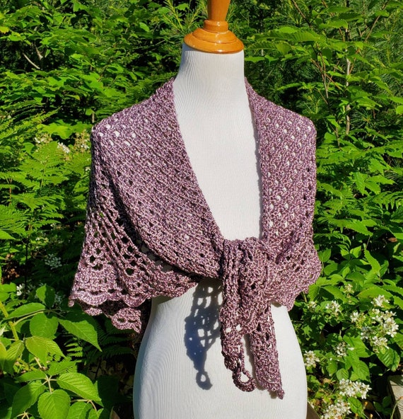 Prom dress shawl, crochet shawl, openwork lace shawl, Victorian lace shawl, bridesmaids wrap, beach summer wedding, metallic rose gold shawl