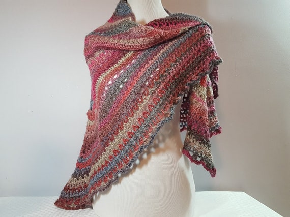 Crochet shawl, bridal accessory, openwork lace shawl, Mothers Day shawl, Victorian lace shawl, beach summer wedding, prom dress wrap, RTS